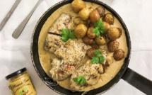 Bocconcini de veau corse au prisuttu et au fromage frais vieilli avec… La petite cuisine de Marie