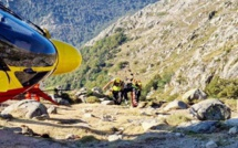 GR20 : 3 opérations de secours en montagne en Corse-du-Sud
