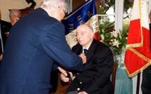Aleria : Jean-Claude Moulis Chevalier de la Légion d'honneur