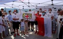 Calvi-Monaco en Water Bike : ambiance princière sur le port calvais pour le départ du défi