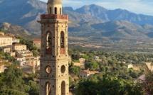 La photo du jour : u campanile de l'église Santa Maria di Lumiu
