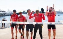 """The Crossing Calvi-Monaco Water Bike Challenge"" : Victoire de la Princesse Charlène de Monaco"