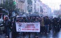 """""""A droga Fora"""" : Plusieurs centaines de personnes ont manifesté à Ajaccio"""
