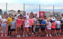 Athlétisme : le kinder day à Porto-Vecchio