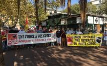 Politique gouvernementale : CGT et Solidaires mobilisés à Bastia