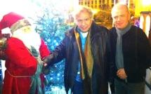 Michel Galabru à Ajaccio : La fête après la pièce !