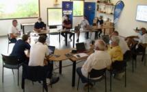 VIDEO - Patrick Pion, directeur adjoint de la DTN, à la Ligue Corse de Football