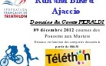 Le Run and Bike d'Ajaccio au profit du téléthon