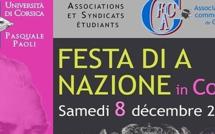 8 di Dicembri : L'Università è a cità di Corti insemi