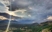 Vents violents et pluies : la Corse passe en alerte orange