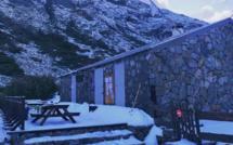 Refuge du Manganu : premières neiges