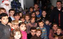 Le père Noël à la communauté de communes de Calvi-Balagne