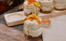 A table : mousse au brocciu, spéculos et confiture d'orange avec… La petite cuisine de Marie