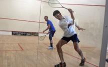 Open Squash de Mezzavia : Antonin Romieu frappe un grand coup