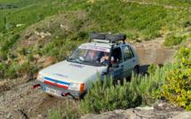 Les 205 du Corsica raid à l'assaut des routes de l'île de beauté