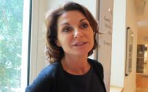 Les premiers pas de la nouvelle élue UMP, Valérie Mermet, à l'Assemblée de Corse