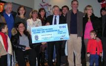 1310 euros récoltés pour le Téléthon 2012 à Ajaccio !