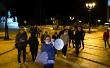 Ajaccio : une centaine de personnes rassemblée pour soutenir les commerçants