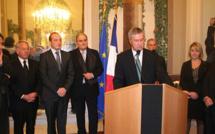 Les vœux de Patrick Strzoda préfet de Corse aux personnalités