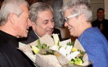 Réception à la mairie de Calvi pour les vœux du maire au personnel communal