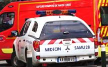 Bastia : deux jeunes sérieusement blessés dans un accident