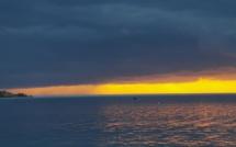 La photo du jour : ciel chargé au Benedettu