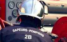 San Damianu : un homme héliporté après avoir chuté d'un toit