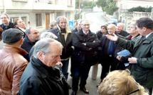 Route de Ville à Bastia, l'amiante s'invite au débat