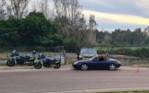 Bastelicaccia : flashé à 169 km/h au volant de sa Porsche