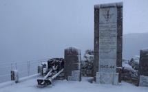 Mini-épisode neigeux sur Bastia