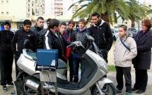 """La sensibilisation des jeunes à la Sécurité routière """"s'affiche"""" au centre social des Cannes !"""