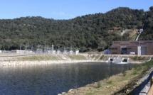 La première turbine du barrage du Rizzanese en service