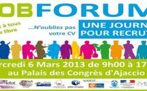 Le Job en forum le 6 Mars à Ajaccio