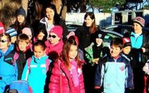Séjour à la neige réussi pour 30 enfants du centre aéré de Calvi