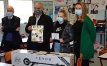 Calvi: Maëliane Lepere lauréate du concours de dessins sur le thème du tri sélectif