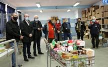Ajaccio : sept mois après les inondations, de nouveaux locaux pour les Restos du Coeur