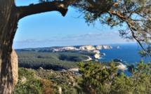 La photo du jour : les falaises blanches de Bonifacio dans la mer bleue du détroit