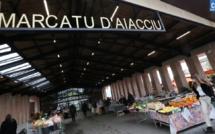 Le marché d'Ajaccio. (PhotoMichel Luccioni)
