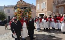 Une fête de Sant'Antone Abbate sans procession à Aregnu