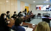 Ajaccio : une rencontre autour des cordées de la réussite au lycée Laetitia