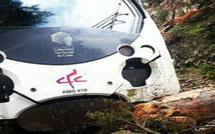 Venaco : Sortie de voie du train Corte-Ajaccio après un éboulement !