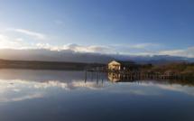 La photo du jour : en longeant l'étang d'Urbinu