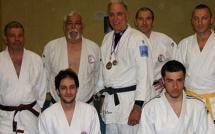 Bernard Favre du Dojo de Montegrossu remporte le Master vétérans du Medoc