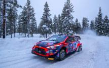 Arctic Rally : Loubet victime d'une crevaison dans la deuxième spéciale