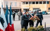 Calvi rend hommage aux victimes de la guerre d'Algérie