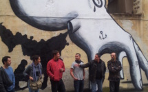 Ajaccio : Rencontre de rue avec des plasticiens