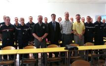 Des pompiers américains hôtes du Sdis de Haute-Corse