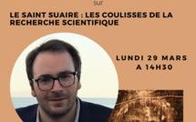 """Conférence - """"Le Saint Suaire de Turin""""  par Tristan Casabianca à Bastia"""