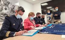 Découverte et sensibilisation aux métiers de la Marine Nationale pour les élèves du lycée maritime de Bastia