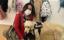 Bastia : Manon et son inséparable Paglia enseignent la médiation animale à l'école Charpak
